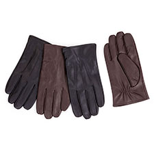Isotoner Mens Smartouch 3 Point Gloves