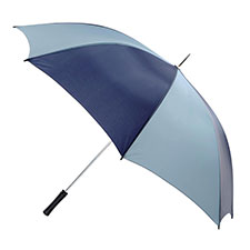 totes Mens Navy & Grey Golfing Umbrella