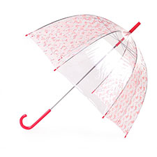 totes PVC Pink Flamingo Alternate Gores Umbrella