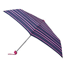 totes Steel Miniflat Pop art Stripe (Dotty) Print Umbrella