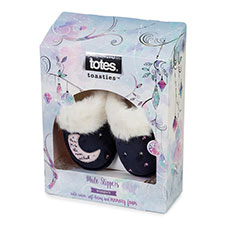 totes Ladies Moon & Back Mule Slippers