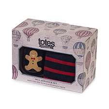 totes Men's Mug & Sock Gift Set