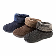 Isotoner Ladies Fine Knit Booties