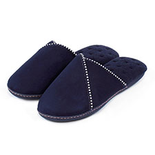 Isotoner Ladies Suedette Mule Slipper
