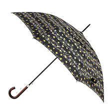 totes Dot & Star Print Elegant Walker Umbrella