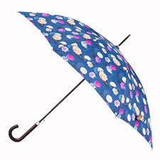 totes Photographic Floral Print Elegant Walker Umbrella