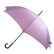 totes Lilac Elegant Walker Umbrella