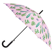 totes Ladies Cactus Slim Auto Walker Umbrella