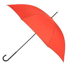 totes Ladies Orange Elegant Walking Umbrella