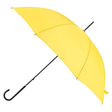 totes Ladies Yellow Elegant Walking Umbrella