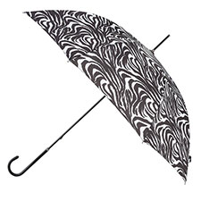totes Ladies Zebra Elegant Walking Umbrella