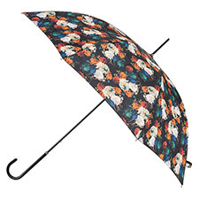 totes Ladies Floral Elegant Walking Umbrella