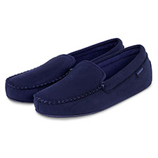isotoner Mens Pillowstep Driving Moccasin Slippers