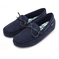 Isotoner Mens Moccasin Slippers
