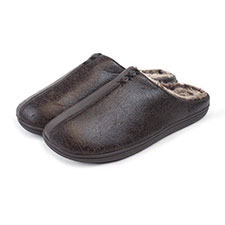 Isotoner Mens Distressed Mules