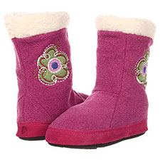 Acorn Kids Flower Power Boot Slippers