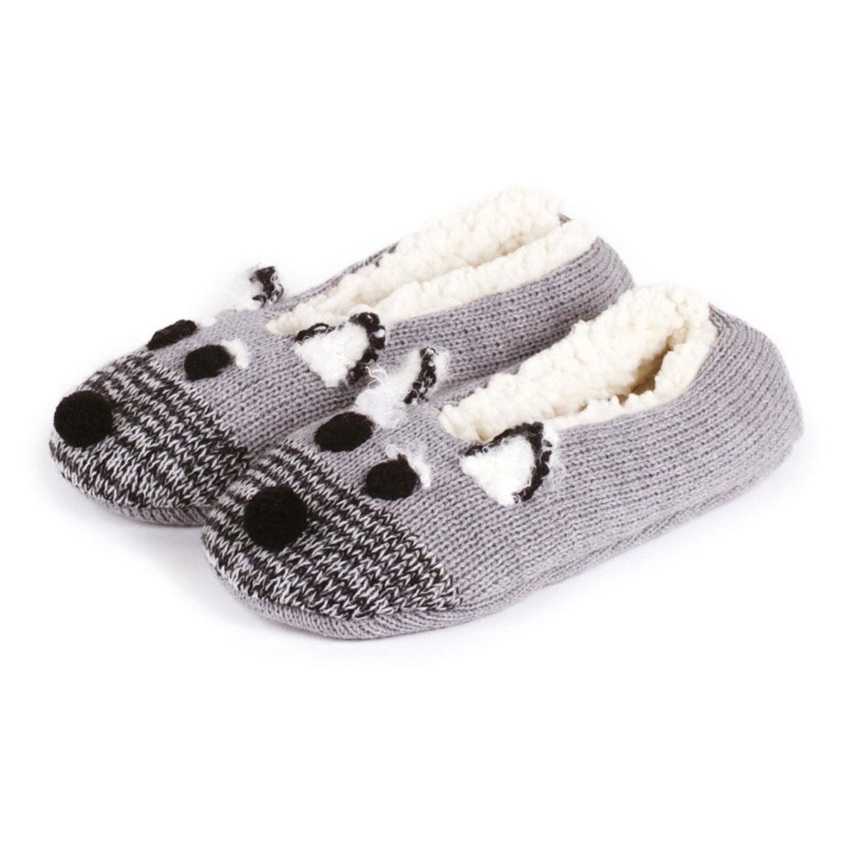 Totes Ladies Novelty Footsie Slipper Socks