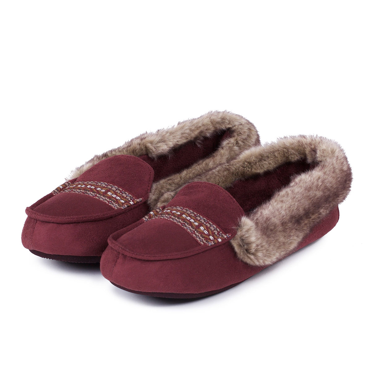 Isotoner Ladies Moccasin Slippers Totes Isotoner